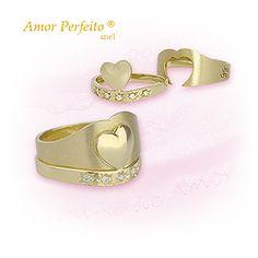 Amor Perfeito® (anel em ouro)