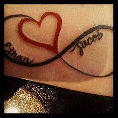 infinity tattoo sacramento