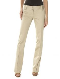 Pants for Women: Drew Stretch Sateen Bootcut Pant: The Limited - khakis for internship/comes in black too