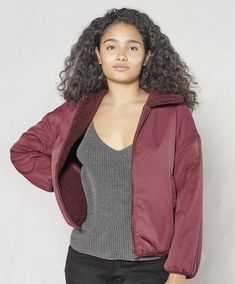 Outerknown is a coastal-minded men's clothing brand that explores the connections between style and sustainability. Mens Clothing Brands, Faux Shearling Jacket, Body Size, Outerwear Women, Piece Of Clothing, Body Measurements, Fitness Models, Bomber Jacket, One Piece