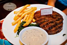 Steak Hotel by Holycow  Address: Kompleks Ruko Plaza Graha Famili B3-B5 (Jl. Yono Soewoyo)