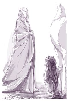 Маленький Элронд знакомится с Трандуилом