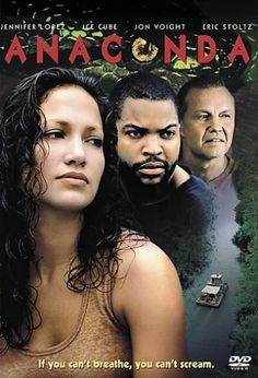 Anaconda (1997) - Saw this that snake, oh my god. If I saw that snake coming, it wouldn't have to worry about me getting away. i would drop dead right there. I would be a easy meal