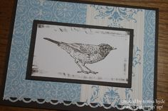 Stampin' Up! Beau Chateau DSP