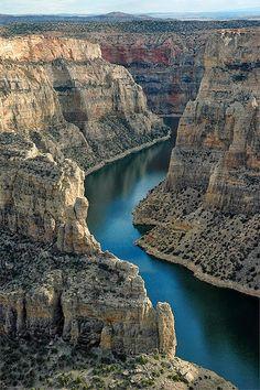 Big Horn Canyon, Wyoming