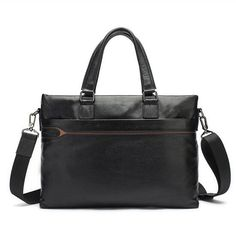 66.04$  Buy here - http://alitnm.shopchina.info/go.php?t=32731413294 - Senkey style Genuine Leather Men Bag 2017 New Fashion Tote 14 Inch Laptop Briefcase Bags for Men Messenger Bags Crossbody Bag 66.04$ #shopstyle