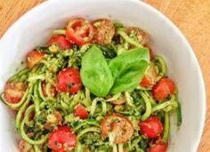 Capellini With Spicy Zucchini-Tomato Sauce