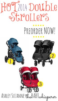 Hot 2014 Double Strollers