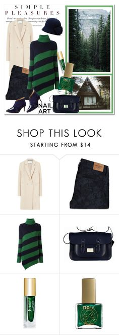 """""""Green In Woods"""" by beograd-love ❤ liked on Polyvore featuring Zephyr, Harris Wharf London, Abercrombie & Fitch, Marco de Vincenzo, ncLA and Ted Baker"""