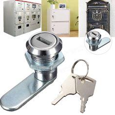 Cam Lock Desk Drawer Lock with 2 Keys for Arcade Cupboard Mailbox File Cabinet Sale-Banggood.com