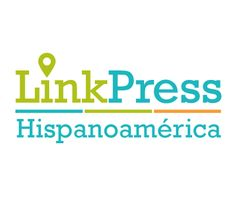 Logo Link Press Hispanoamérica. Diseñador por Athene Agencia Creativa