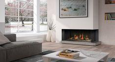 Hergom -  wood  fireplace in cast iron.