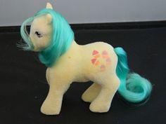 My Little Pony Vintage G1 Cupcake (So-Soft Ponies) [1a] #Hasbro