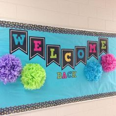 welcome back to school bulletin board for instructional coach Preschool Bulletin Boards, Bulletin Board Display, Classroom Bulletin Boards, Classroom Door, Classroom Themes, Bullentin Boards, Display Boards, Welcome Back To School Bulletin Boards Kindergarten, Preschool Welcome Board