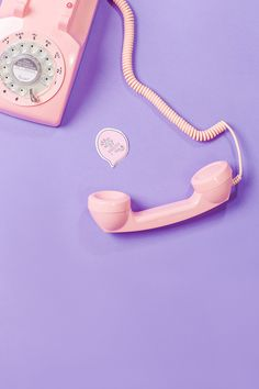 Pink phone. Colourful content creation. Photography by Marianne Taylor.