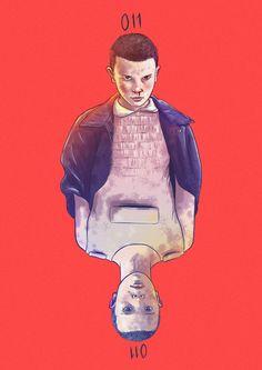 15 Ilustrações de Stranger Things, nova série do Netflix