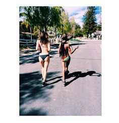 Kylie Jenner and her friend