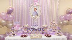 Sofia the First Birthday Party Ideas   Photo 1 of 26   Catch My Party
