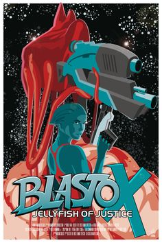 I really like this Blasto poster and I sort of what to redecorate my room with cool posters like this.