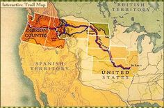 Lewis and Clark . Interactive Trail Map | PBS
