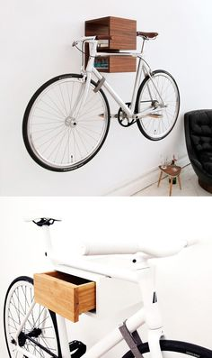 cool indoor bike support