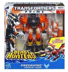 TRANSFORMERS PRIME PREDAKING VOYAGER CLASS PREDACON - BEAST HUNTERS Hasbro  | eBay