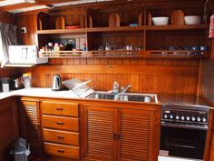 galley layout and storage