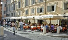 Outdoor dining- Rome