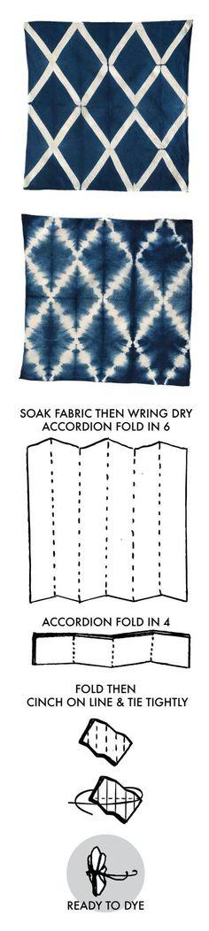 Natural Dye Kits. Lattice String
