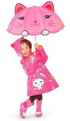 Children Kidorable Original Branded Shark Raincoat Jacket For Little Girls Toddlers Boys