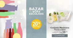 Bazar das Boas Escolhas – de 29/12 a 04/01.   Painel
