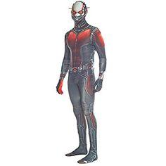 Offizieller Antman Morphsuit, Verkleidung, Kostüm - XXLarge - 6'2-6'9 (186cm-206cm)