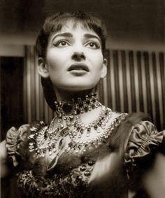 Maria Callas, 1955, in costume as Violetta in La Traviata