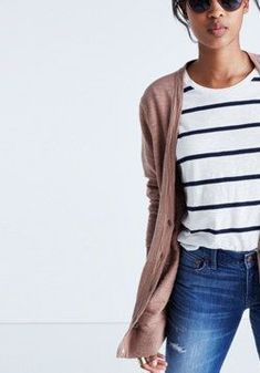 Graduate Cardigan Sweater :   Madewell