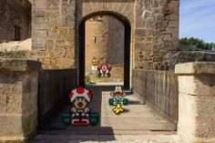 Classic Video Games in the Real World by Victor Sauron