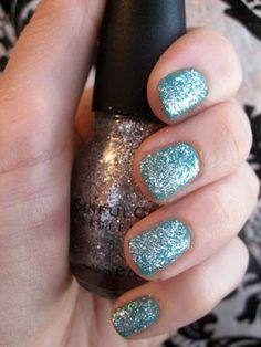 Turn your nails into accessories! Sparkle nails at New Nostalgia. #glitter #nails #nailpolish | New Nostalgia