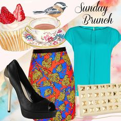 Fashion Friday: Mixing bold prints & bright colours for Sunday brunch http://www.venusbuzz.com/archives/41741/fashion-friday-mixing-bold-prints-bright-colours/