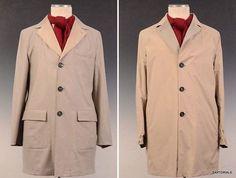 K. Punto Rosso by KITON Napoli Beige Reversible Jacket Cashmere Coat 54 NEW 44