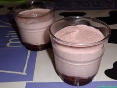 Mousse de fresas con mermelada   Cocina