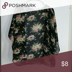 Floral kimono Floral kimono. Simply throw over any outfit to make a fashion statement. Other