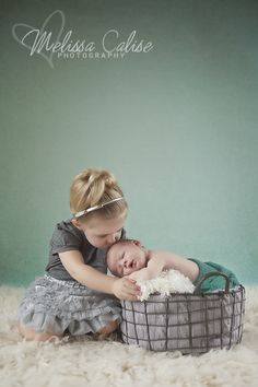 Melissa Calise Photography (Newborn Boy Photo Shoot Posing Ideas Siblings Brother Sister)