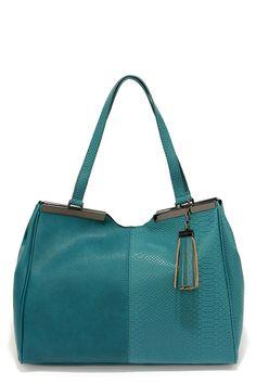 Steve Madden Bnatalia Teal Handbag
