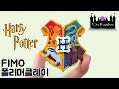 폴리머클레이로 호그와트 로고 만들기 / 피규어 만들기 / 미니어쳐 캐릭터 만들기 - YouTube