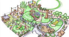 Planet Earth Playscapes: Natural Playscape Design