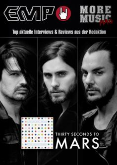 Thirty Seconds, 30 Seconds, Online Magazine, Music Magazines, News Articles, Mars, Music Videos, Latest Issue, Shannon Leto