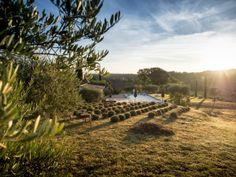 Golden Hour in Provence. Good morning at Mas de Malpertuis. #Provence #sunrise