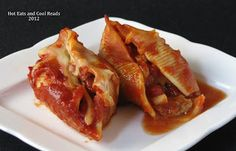 Ground Beef, Sausage and Cheese Stuffed Shells Recipe