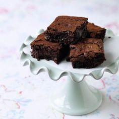 Classic Chocolate fudge brownies.