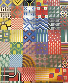Reviglass had some eye-popping patchwork mosaics full of bright and primary colors and bold, catchy patterns.