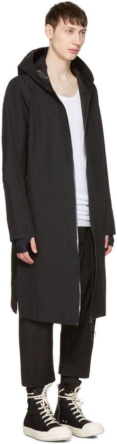 11 by Boris Bidjan Saberi - Black Scarf Coat